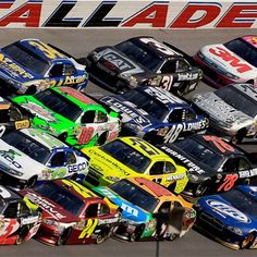 Talladega Superspeedway -- spent some time in that infield growing up!