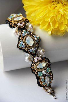 """Купить Браслет """"RUES DE I'ITALE"""" - браслет, винтаж, винтажные украшения, винтажный браслет"""