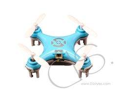 Cheerson CX-10 1.6'' Mini 2.4G 4CH 6 Axis LED RC Quadcopter - Blue               http://www.dsstyles.com/product/cheerson-cx-10-1.6-mini-2.4g-4ch-6-axis-led-rc-quadcopter---blue