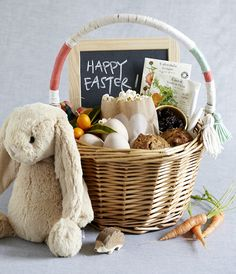 200 ideas for candy free easter baskets that kids and adults will natural easter basket idea doesnt have to be stuffed with negle Image collections