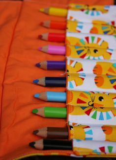 Colored Pencil Rolls