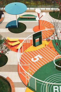 Home - mobile Landscape Architecture, Landscape Design, Architecture Design, Urban Furniture, Street Furniture, Parque Linear, Urban Ideas, Playground Design, Parking Design