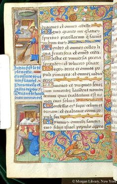 Book of Hours, MS H.5 fol. 130v - Images from Medieval and Renaissance Manuscripts - The Morgan Library & Museum