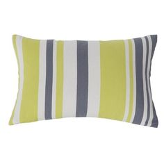 Kensie 'Etta' Pillow (46 CAD) ❤ liked on Polyvore featuring home, home decor, throw pillows, modern home accessories, kensie, modern home decor, stripe throw pillows and striped throw pillows