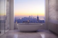 I imagine this is what heaven looks like. New York Real Estate - 432 Park Avenue Apartment New York Penthouse, Duplex New York, Apartments New York, Penthouse Apartment, Dream Apartment, York Apartment, Nyc Apartment Luxury, Apartment View, Luxury Penthouse