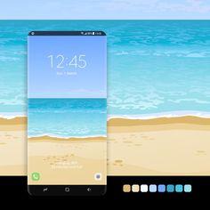 #wallpaper, #android, #phone, #smartphone, #samsung, #galaxy, #samsunggalaxy, #samsungthemestore, #samsunggalaxyedge, #store, #galaxyapps, #s8, #s9, #s10, #s20, #s21, #galaxynote, #design, #themestore, #screen, #seabeach, #seashore, #tropicalbeach, #tropicalparadise, #illustration, #bluewater, #bluesea, #blueocean, #sandybeach, #seawater Samsung Galaxy Wallpaper, Amazing Watches, Samsung Device, Android Apps, Smartphone, Wallpapers, Store, Illustration, Design
