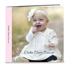 Ellie's first year photo book
