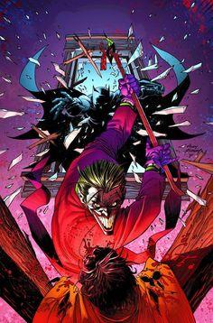Batman & Robin vs. the Joker by Andy Kubert