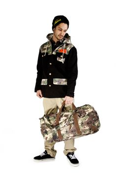 Team Beanie, Arches LS Flannel, St. Elias Jacket, Kruger Pant, Johnson Low Suede Leather, Friday Duffle Bag