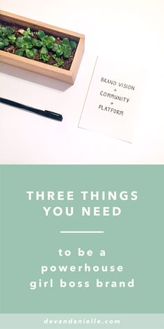 Three Things You Need to be a Powerhouse Girl Boss Brand by Devan Danielle — Do you ever look around at some of the successful girl bosses online and wonder how in the world they became so boss? Ever find yourself lost in the comparison game and wondering if you'll ever be able to measure up? Do you get overwhelmed looking at where you are now compared to where you want to be? You are not alone. Read more to learn exactly what makes these girl boss brands so powerful + how to get there…
