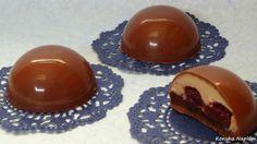 Konyha Naplóm: Fekete-erdő  csokoládéba zárva