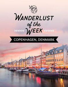 Copenhagen, Denmark. Fairytale land of Smørrebrød and hippie communes.