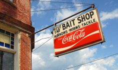 Winona, MN. West End Bait Shop sign. It is still there!