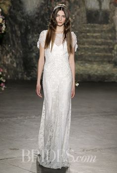 Brides.com: . Wedding dress by Jenny Packham