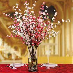 cherry blossom branches arrangement - google search | adornos