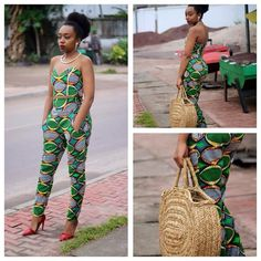 Yes, Ankara chic!