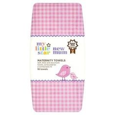 Superdrug My Little Star New Mum Maternity Towels Pregnancy Hospital Bag, Maternity Pads, Hospital Bag Essentials, Sanitary Towels, After Giving Birth, New Mums, Mother And Baby, Little Star, Baby Feeding