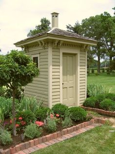 fancy outhouses - Google Search