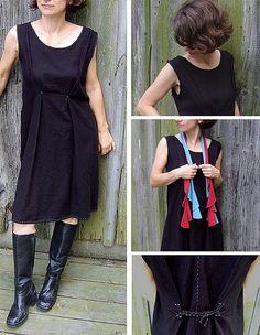 Hand-Sewn Black Dress | Flickr - Photo Sharing!
