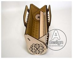Laser Cutter Ideas, Laser Cutter Projects, Leather Purses, Leather Handbags, Wooden Purse, Purse Handles, Handmade Handbags, Mocca, Leather Projects