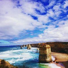 18022016 Great Ocean Road  #学校サボって海外ツアー参加 #海外ツアーに一人参加 #やっぱりバスガイドの英語はわからんっ  #グレートオーシャンロード#ソラ#海 #メルボルン#海外ツアー#greatoceanroad #blue#sea#landscape #blue#sky#beautiful#nature#wild#Melbourne by emmachan25