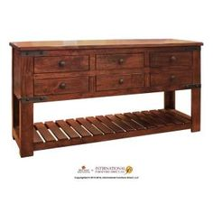 IFD866CKTL in by Artisan Home Furniture in Manhattan, KS - Cocktail Table w/6 Drawers