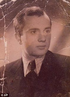 Boruch Spiegel, seen before the outbreak of World War II in 1939, escaped the ghetto through the sewers along with his future wife as the Germans began to crush the rebellion