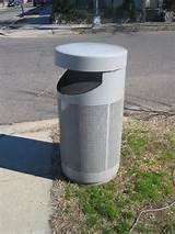 PUBLIC TRASH CANS