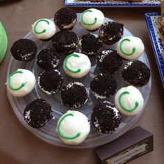 """Catered cupcakes from Joselitos in Tujunga. """"C"""" stands for baby Colton."""