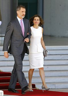 The couple's state visit is seen as an important step in securing relations with Spain as the UK leaves the EU. The last incoming state visit by a Spanish king - Felipe's father Juan Carlos - was 31 years ago