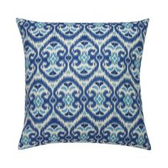 Blue Alhambra Pillow | Janet Kain for the Home