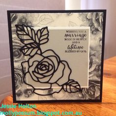Jessie Holton / MollyPossum Creations / Stampin' Up! Australia Demonstrator: Money Pocket Wedding Cards