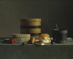 Random Inspiration: Henk Helmantel (b. Brooms And Brushes, Still Life 2, Dutch Golden Age, Food Painting, Dutch Painters, Hyperrealism, 2d Art, Beautiful Paintings, Lovers Art
