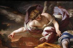Francesco_solimena,_agar_e_ismaele_nel_deserto_confortati_dall'angelo 1690