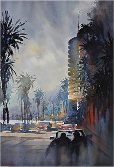 Thomas W. Schaller「Pacific Coast Highway」