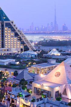 Raffles  hotel on the western side of Dubai Creek. #Jetsetter