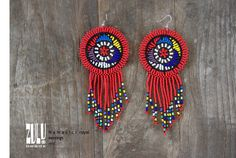 Your place to buy and sell all things handmade Zulu Women, Beaded Earrings, Drop Earrings, African Children, Good Cause, Happy Shopping, Seed Beads, Charity, Dream Catcher