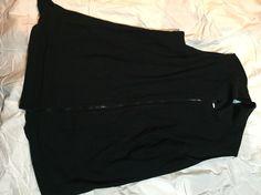 Long black shirt (no sleeves)