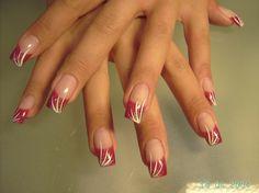 Sexy Gel nails + Nail art