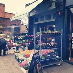 Streets florist and greengrocer's