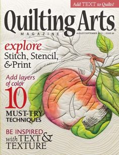 A New Method for Painting on Fabric - Tips for Using Inktense Blocks - Quilting Daily - Blogs - Quilting Daily