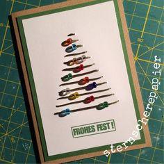 Perlen am Weihnachtsbaum www.sternscherepapier.wordpress.com