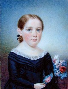 Sarah Goodridge, Portrait of Persis Child, circa 1830