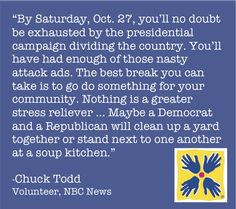 This election season, let's work together to make a difference!