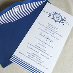 Nautical Collection Wedding