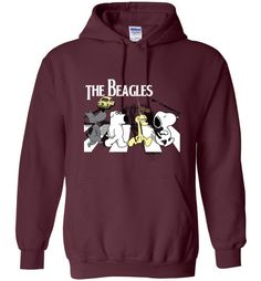 Amazing The Beagles Unisex Hoodie Check more at https://crazeline.com/product/the-beagles-hoodie-shirt/