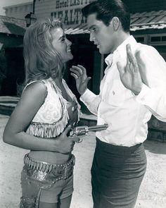 Ann Margret 8x10 Photo Pulling Gun on Elvis Presley | eBay