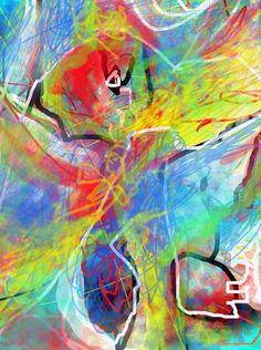 SH SH SH hija, el miedo ha pasado, duerme que ya despertaras del sueño y veras los colores del Cosmos, DE DIOS, de la VIDA. Photoshop CS4, 2011