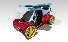 #conceptcar #catiav5 #design #ecar #eletric