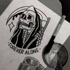 Resultado de imagem para traditional tattoos dark